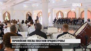 Европейские послы посетили Приднестровье
