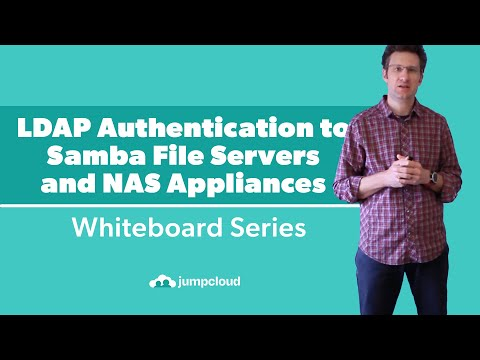 LDAP Authentication to Samba File Servers and NAS Appliances | Whiteboard Video