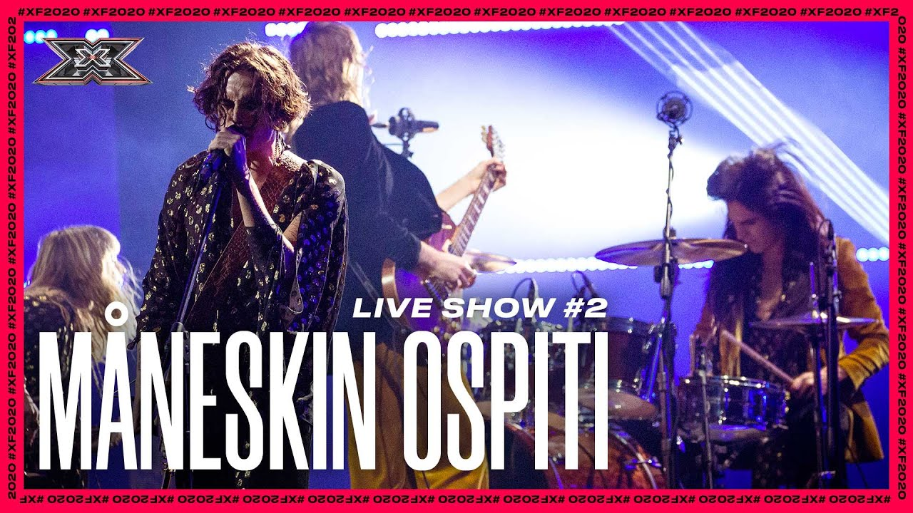 I MÅNESKIN cantano VENT'ANNI a X FACTOR 2020 | Live Show 2