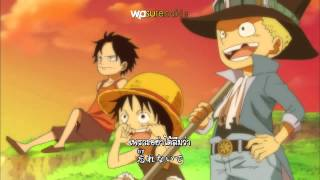 One Piece Opening 14 - Fight Together [Sub Thai+Karaoke]