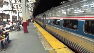 Amtrak & New Jersey Transit - Newark Penn Station Part 2; August 24th, 2012