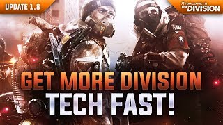 "The Division - Best ""Division Tech"" Farming Spots in 1.8 