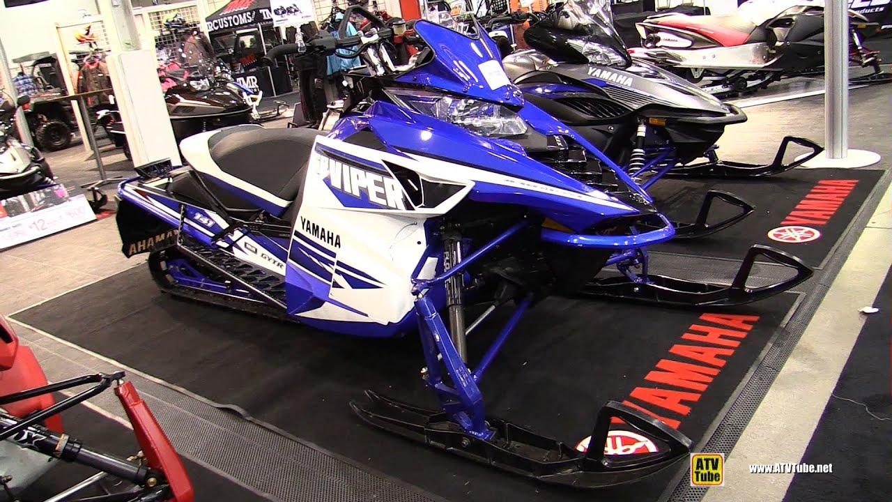 2016 yamaha sr viper x tx le sled walkaround 2015 toronto snowmobile atv show