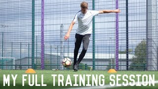 My Full Training Session and Recovery | Individual Pitch Session and Vibrating Foam Roller Routine