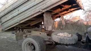 Самосвал ГАЗ САЗ 3507 подъем кузова(, 2014-01-01T20:14:51.000Z)