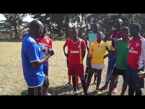 KICK OFF FOOTBALL PROGRAM KIBULI 1