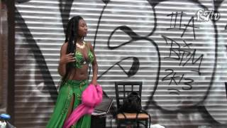 Download Video Gorgeous Hot Black  Belly Dancer Shows  How It's Done MP3 3GP MP4