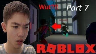 Did he just walk into the wall(100% hacker) | Jailbreak(Roblox) Part 7