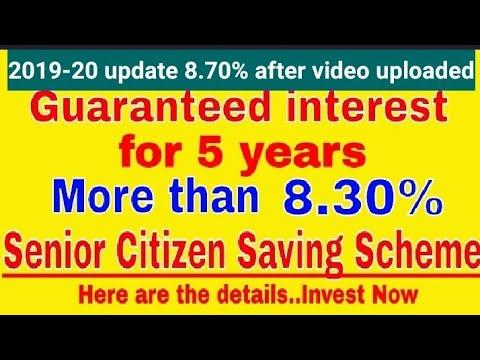 Senior Citizens Savings Scheme..The best scheme of 2018