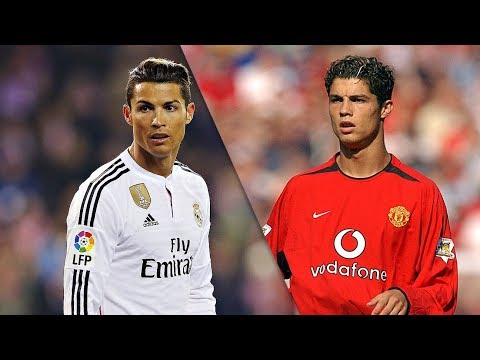 Cristiano Ronaldo in Real Madrid vs Manchester United ● Skills Show