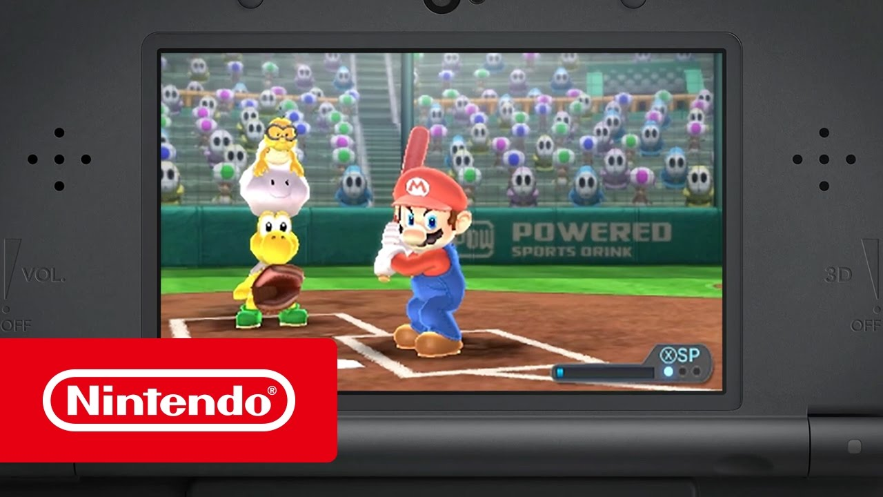 Mario Sports Superstars Trailer Home Run Nintendo 3ds Youtube