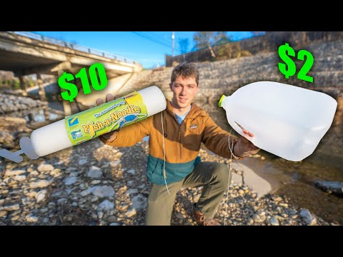 WALMART Fishing Jug VS. HOMEMADE $2 Jug (WHICH IS BETTER)