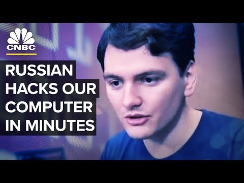 Watch This Russian Hacker Break Into Our Computer And Take Complete Control In Minutes | CNBC
