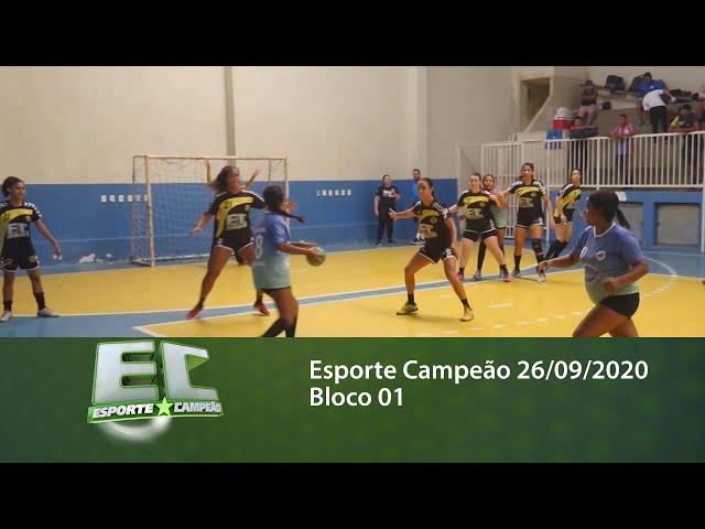 Esporte Campeão 26/09/2020 - Bloco 01