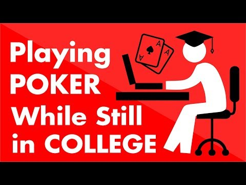 Playing Poker While Still in College - Bankroll Management