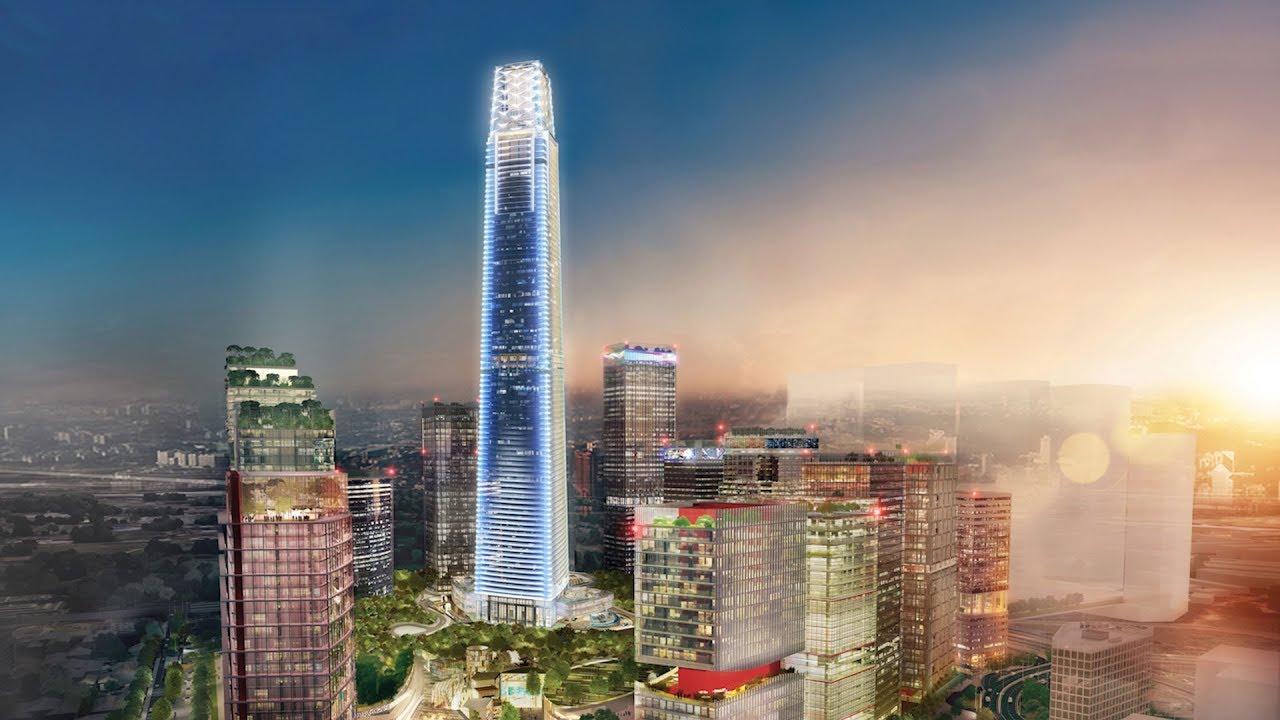 New Trx Skyscraper To Surpass Petronas Twin Towers Height Youtube