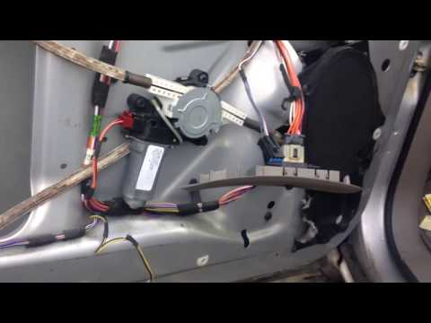 Window motor repair for Chrysler voyager