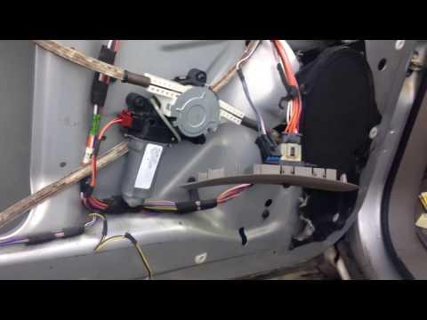 Window motor repair for Chrysler voyager