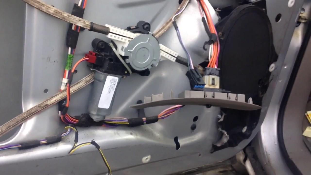 Window motor repair for Chrysler voyager  YouTube