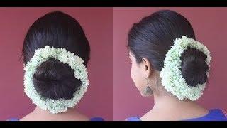 Juda Hairstyle With Jasmine Garland Hairstyle Tutorial BeautyBook