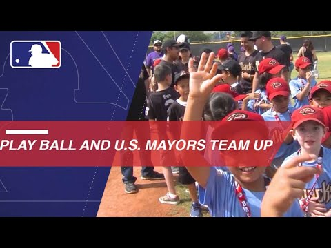U.S. Conference of Mayors teams up with Play Ball