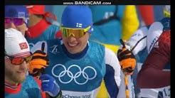 Iivo Niskanen Olympic winner 50km classic