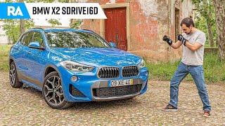 BMW X2 sDrive16d. Mais de 50 MIL EUROS neste 3 cilindros