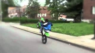 Impennate in moto