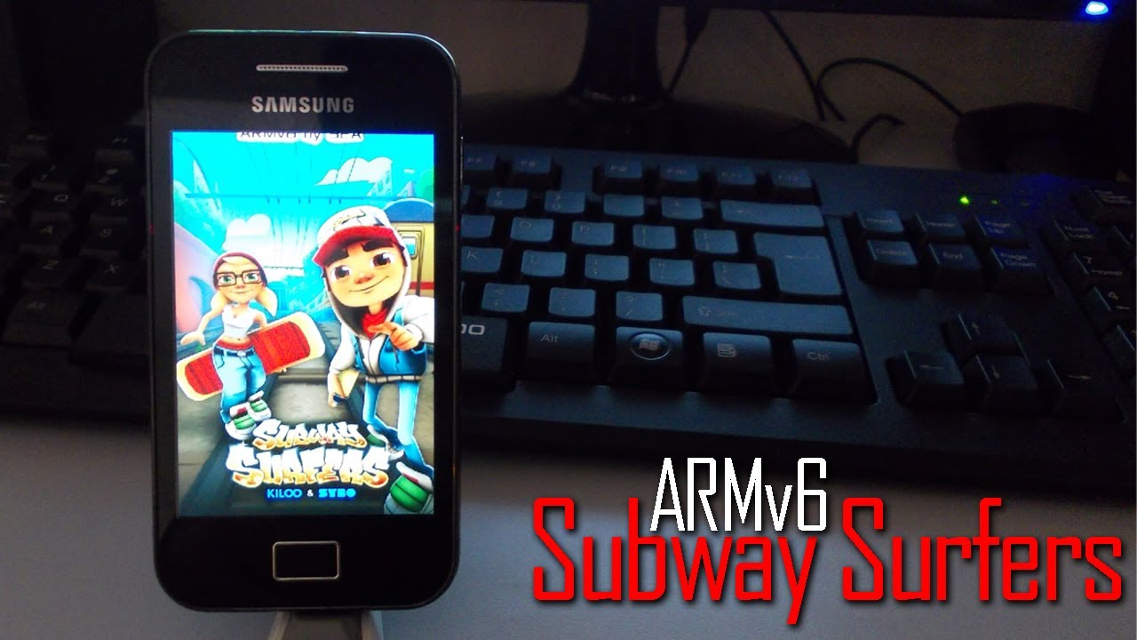 Subway surfers and temple run for samsung galaxy y (gt-s5360.