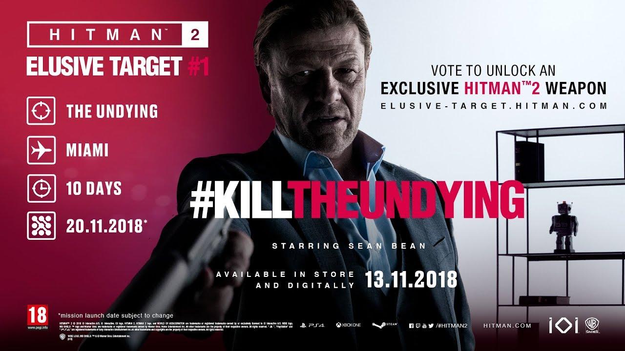 Hitman 2' will let everyone kill Sean Bean