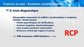 Conftube ECNi #49 - Cancer du sein - QCM