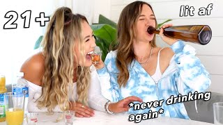 TRUTH OR DRINK ft LaurDIY!! *exposing ourselves hardddd