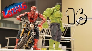 SPIDERMAN STOP MOTION Action Video Part 16