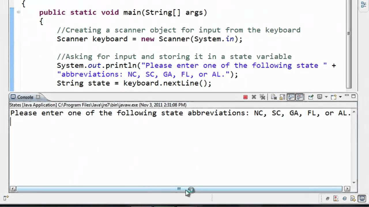Java Tutorial 11 Comparing Strings Youtube