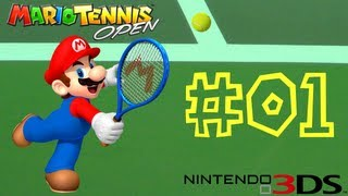 Mario Tennis Open -- Online Matches 01: Droppin' the Deuce!