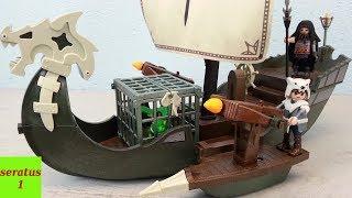 Playmobil Dragons Dragos Schiff 9244 auspacken seratus1