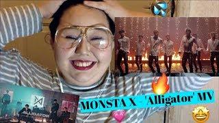 MONSTA X(몬스타엑스) - Alligator MV REACTION