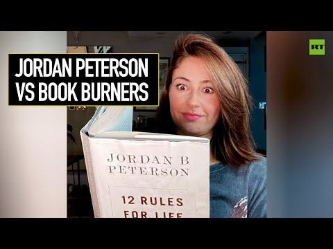 RT: Jordan Peterson vs Book Burners | #PollyBites
