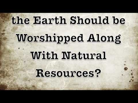 How Important is Worshipping the Earth? *INTERACTIVE RELIGION FINDER*