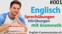#1 Englisch grammatik für Anfänger Englisch Lernen Deutsch English Sprachkurse   A1,A2, A,B,C,D,E,F