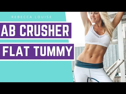 AB CRUSHER! 10 Minutes To Six Pack - Flat Stomach Exercise | Rebecca Louise