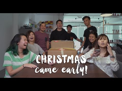 Christmas Came Early!