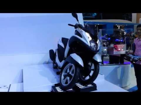 Frist Look !! YAMAHA TRICITY - The 35th Bangkok Motor Show 2014