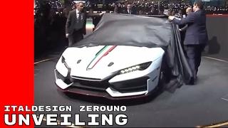 Italdesign Zerouno V10 Supercar Unveiling