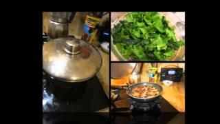 Chard Mushroom & Bacon Salad 2 Sd 480p