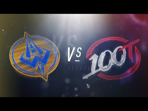 GGS vs 100 - NA LCS Week 4 Day 2 Match Highlights (Spring 2018)