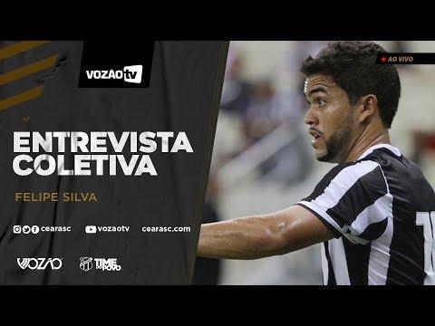 COLETIVA Entrevista coletiva Felipe Silva  23012020  Vozão TV