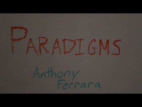 Programming With Anthony - Paradigm Soup
