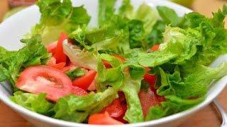 Простой рецепт салата с куриной грудкой