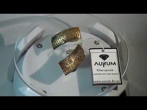Золотые серьги фото